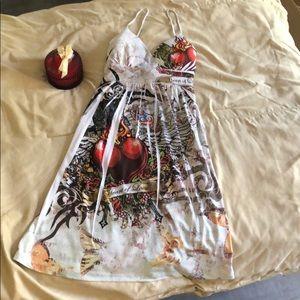 Sassy spaghetti strap summer dress